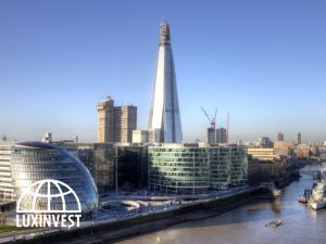 В Лондоне строят третий небоскреб London Bridge