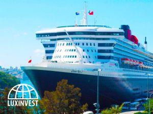 В Аликанте прибывают крупные круизные лайнеры